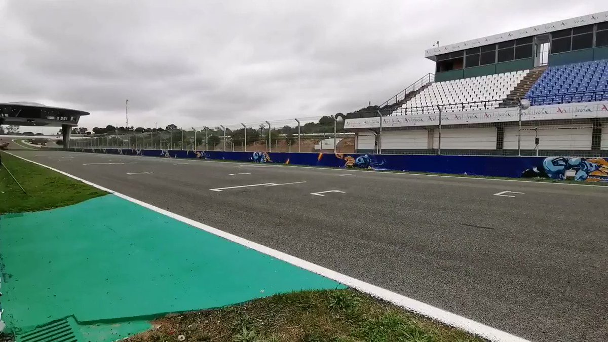 Image for the Tweet beginning: Do you feeeel the speeeed? #JerezTest