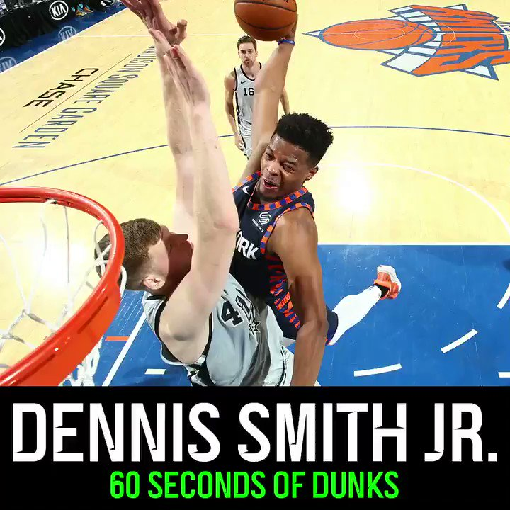 Had to post 6️⃣0️⃣ seconds of Dennis Smith Jr. dunking for his birthday.