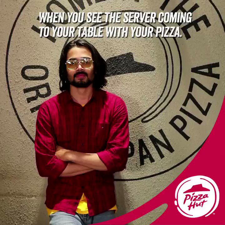 We all know that feeling, tag a friend who feels the same way TastiestPizzasAt99 PizzaHutJavenge Bhuvan Bam https ...