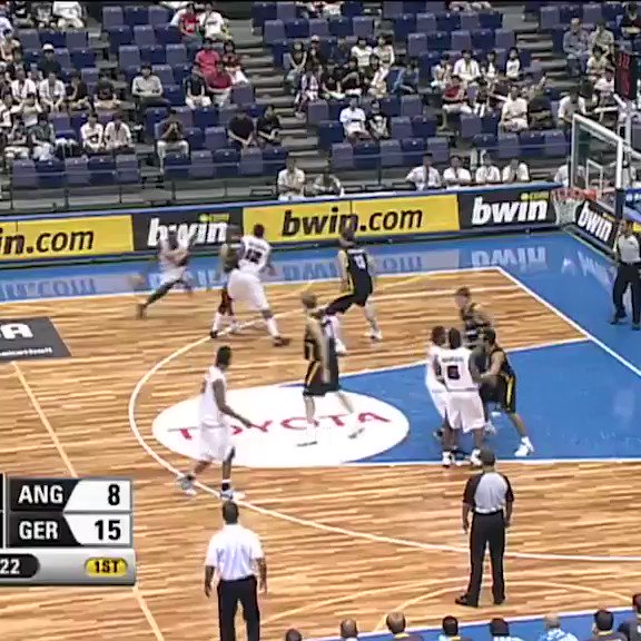 Watch one of Olimpio Cipriano's top performances in the Angola 🇦🇴 jersey, going off for 33 points v Germany 🇩🇪 in their classic triple OT match up at the 2006 #FIBAWC! 🔥🔥🔥  📺 Tune in on http://YouTube.com/FIBA  at 15:00 GMT+2 on Thursday to re-watch the full game!