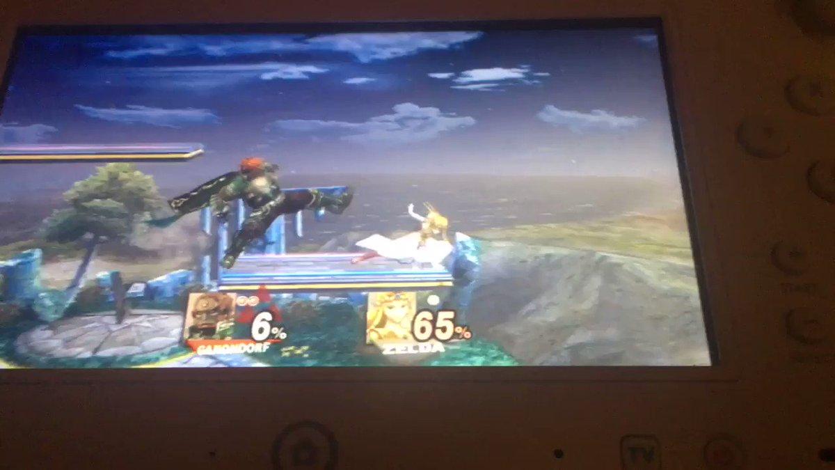 Here's an old smash bro's brawl clip of me styling on a cpu. #SmashBrosBrawl #SmashBrosUltimate #Ganondorf #Zelda #LOZ