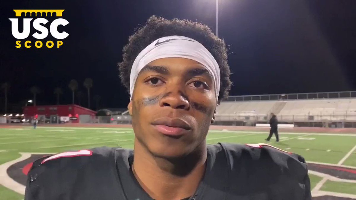 Here's What 5-Star WR Gary Bryant Jr. (@Gary_Bryant01) Had To Say About #USC A Year Later Just Before His Official Visit (11.22.19)‼️👀 twitter.com/scott_schrader…