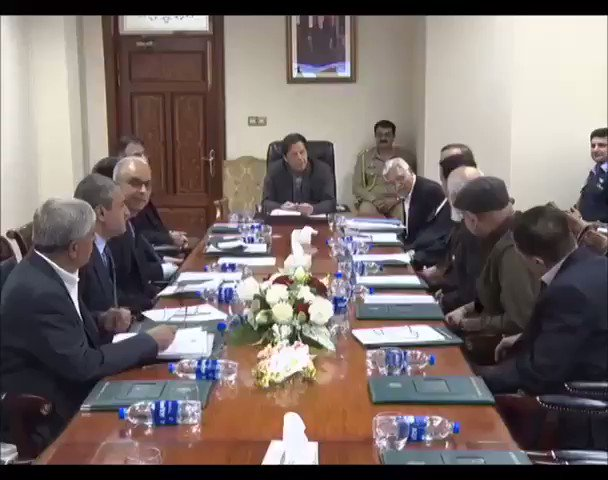 A delegation of Construction Association of Pakistan, headed by Eng. Mr. Arshad Dad Khan, called on Prime Minister Imran Khan at PM Office today. Minister for Planning Mr. Asad Umar was also present during the meeting.