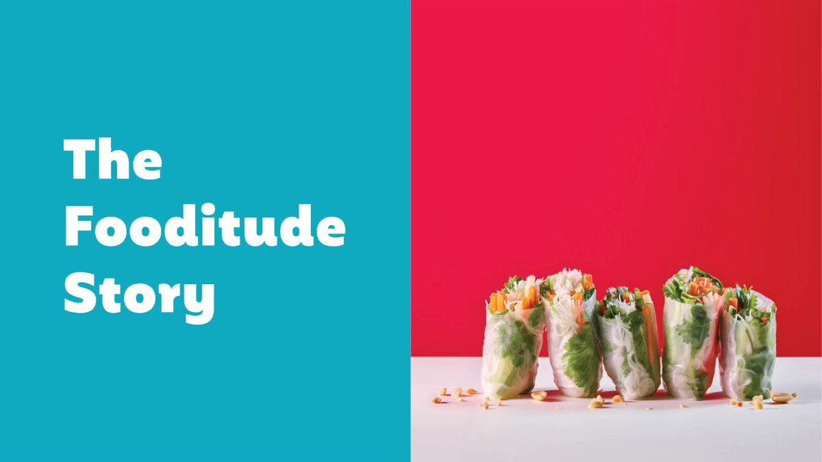 Image for the Tweet beginning: Our ikkle story #Fooditude