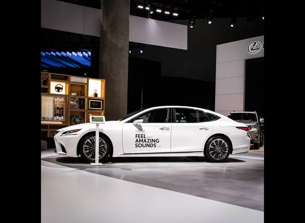 Swing by the Lexus booth at the #LAAutoShow today and hear for yourself the music that moves you, courtesy of the @MarkLevinson equipped #LexusLS. Designed exclusively for #Lexus.
