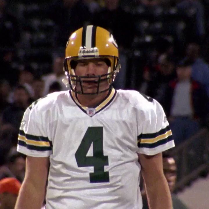 """""""The best possible way to honor your dad.""""  @JJWatt and @BrettFavre look back on Favre's unforgettable MNF performance in 2003. #NFL100 (by @GenesisUSA)"""