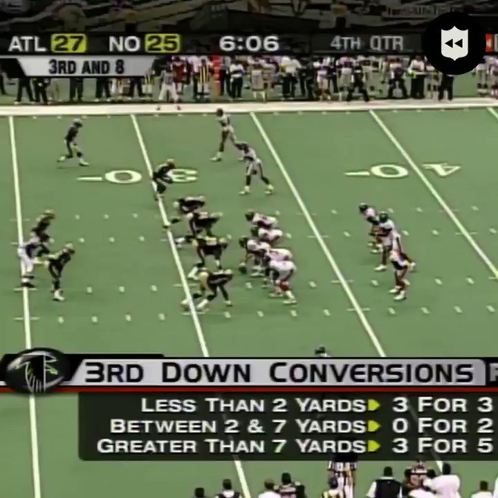 """""""Without question, [@MichaelVick] is the most athletic QB of all time."""" (Oct. 27, 2002)  AGREE or DISAGREE? 🤔  #NOvsATL: Thanksgiving Day at 8:20pm ET on NBC"""
