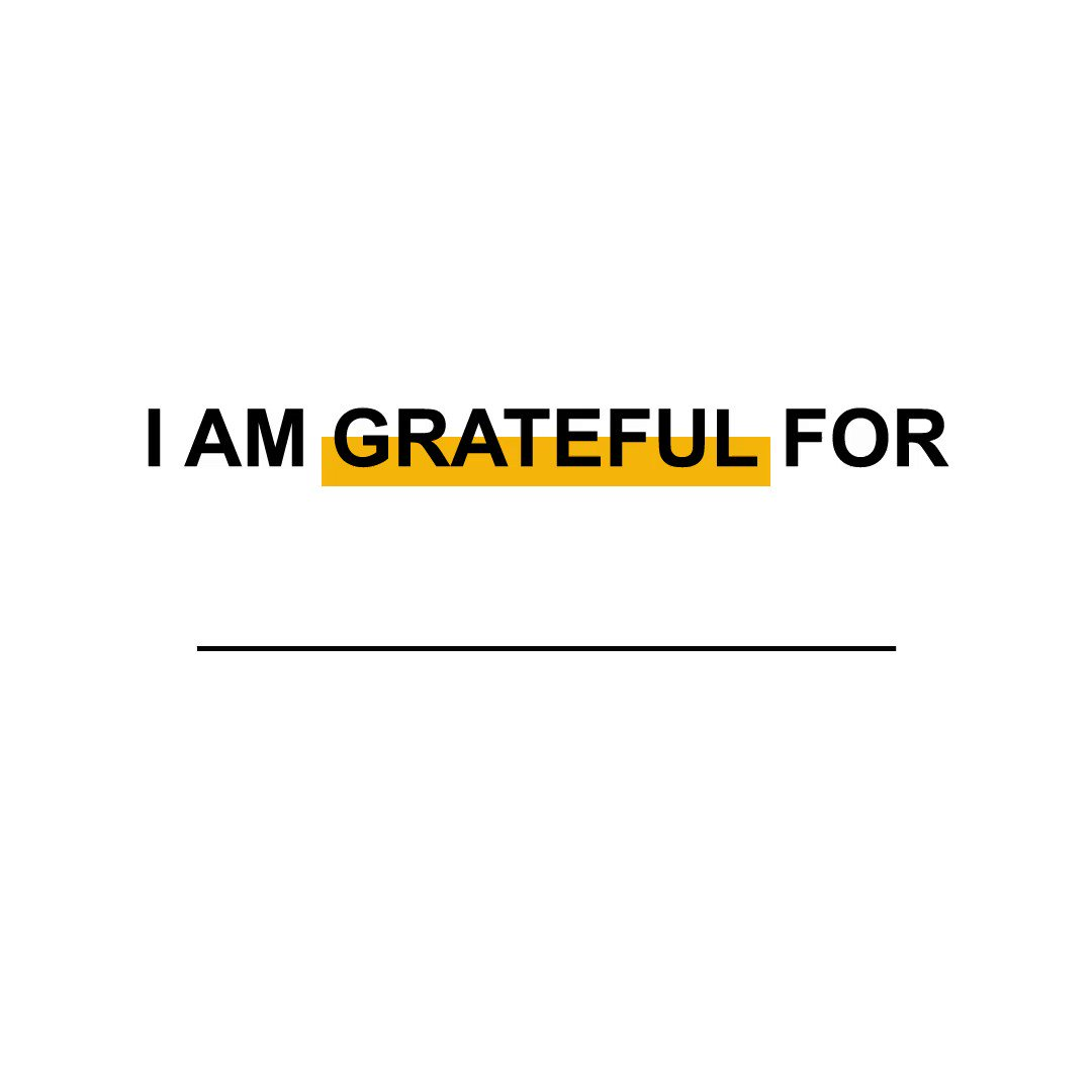 What does it mean to be grateful?  Living your life with gratitude means choosing to focus your time and attention on what you appreciate. This Thanksgiving we thank you, our gym members, staff and social media followers, for your continued support.