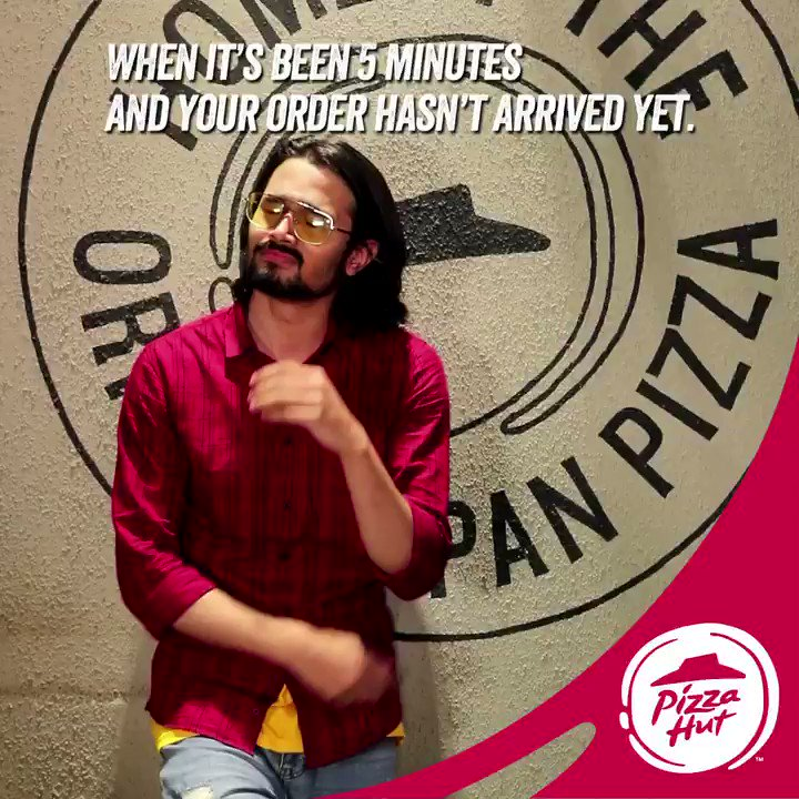 Have some patience yaar PizzaHutJavenge TastiestPizzasAt99 Bhuvan Bam https t.co XQrX4RE7xL