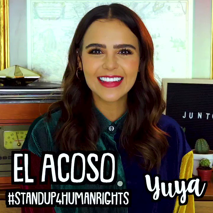 Everyone has the right to be safe and treated with dignity. Today, 1/3 of the worlds teens experience bullying. Meet @yuyacst who is standing up to bullying. Together, we must stand up for the rights of others. #StandUp4HumanRights #HumanRightsDay