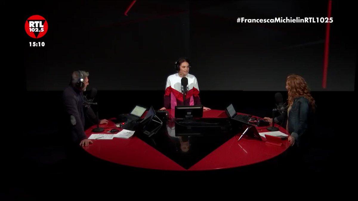 Ospite di The Flight @francescacheeks pronta a tornare sul palco di #XF13 🤩  #FrancescaMichielinRTL1025 📻 https://t.co/qC64JZcN4w