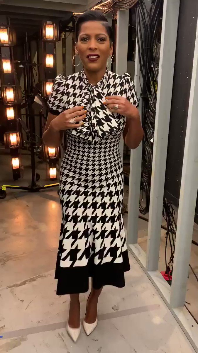 This Thanksgiving @tamronhall is serving #pilgrimfashionchic!! Team Tamron wishes you all a Happy Thanksgiving🧡🍗💛 Have a wonderful day!!
