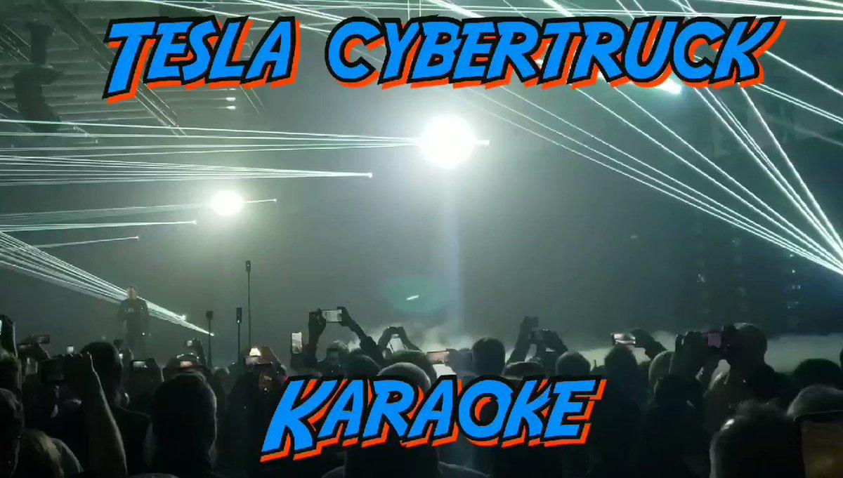 #Tesla #Cybertruck & #Cyberquad #Karaoke @Tesla @ElonMusk 🤩😍🥰💓🦸♂️🚀🌎👏