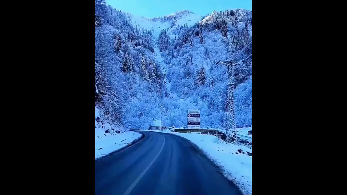 A winter wonderland, Rize, Turkey   Source: FB Turkish Dream #turkey #Rize #turkeytravel #winter #winterlove #visitturkey #naturelover  #bestplacetogo #wonderful #travellerpic.twitter.com/o07YgBqCyK