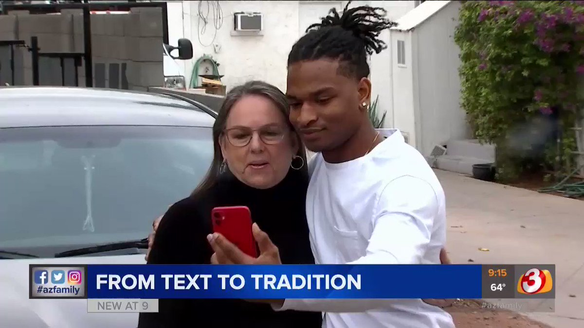 From accidental text...to tradition.  Wanda and Jamal celebrated their FOURTH Thanksgiving together today after she mistakenly texted him in 2016 thinking she'd texted her grandson. Now, they've been part of amazing changes in each other's lives ever since https://t.co/BtQKiTubro https://t.co/pU2bLP08vn