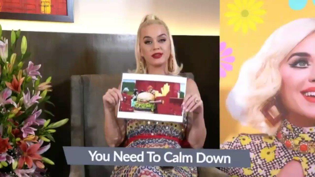 """FADA!!! """"Juntas nós fizemos um McLanche Feliz e isso foi para """"You Need To Calm Down"""", uma música dela [Taylor Swift] que eu realmente gosto. É incrivelmente bem escrita e muito clara para os tempos de agora."""""""