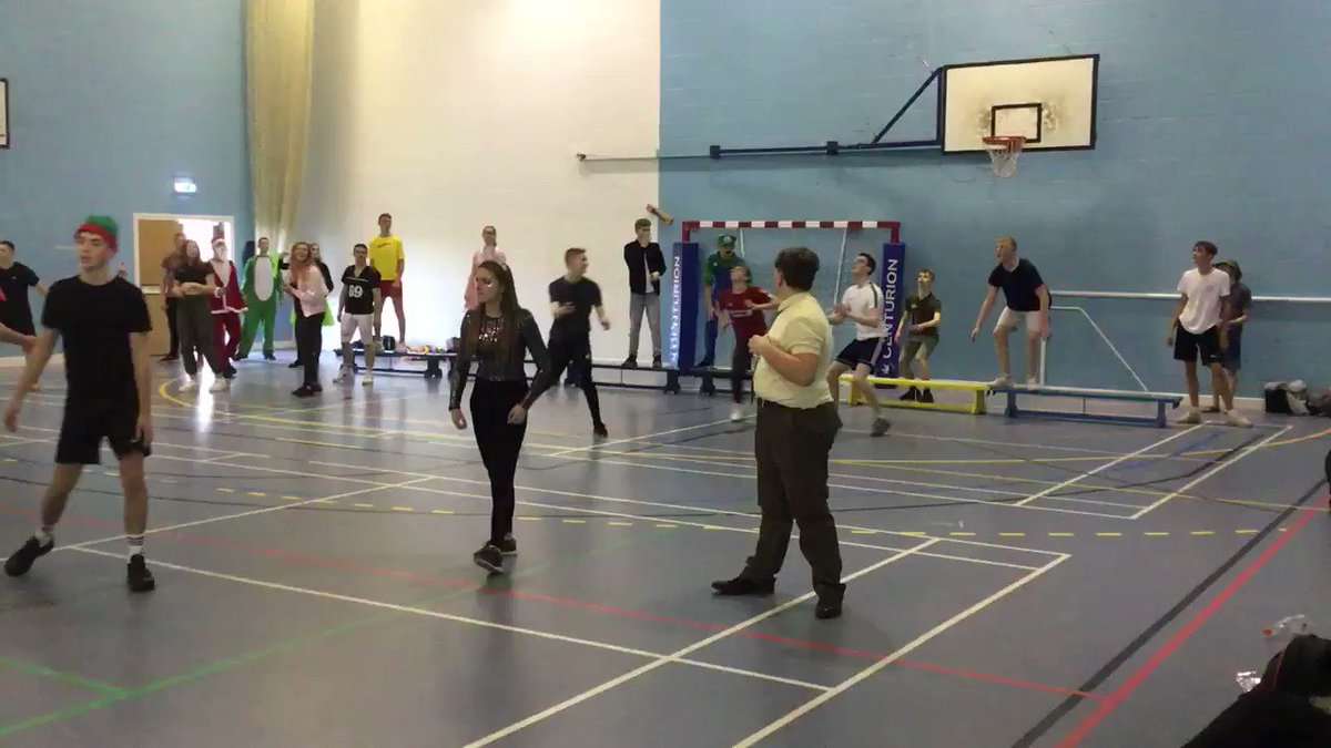 Children in Need marathon dodgeball event in action  #weareEDA