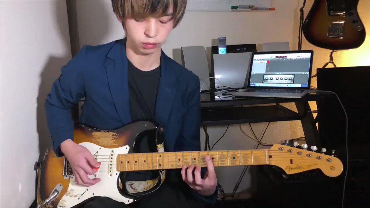 急にあいみょん弾く奴🎸ダダリオの新しいコーティング弦良いぞなかなか🐧#あいみょん #空の青さを知る人よ #弾いてみた #ソロギター