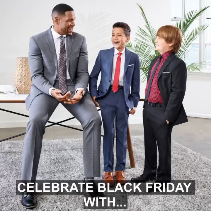 Happy #BlackFriday! Celebrate the right way with MSX and COLLECTION by Michael Strahan! #RaiseYourGame