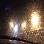 【エルサの魔法なのか】北海道の車の霜の広がり方が名シーンのよう