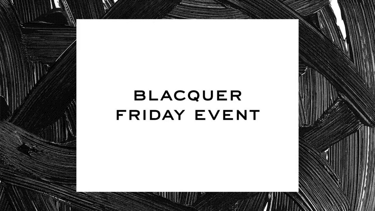 Take 20% off sitewide with our Blacquer Friday Event on marcjacobsbeauty.com. Ends 11/30.
