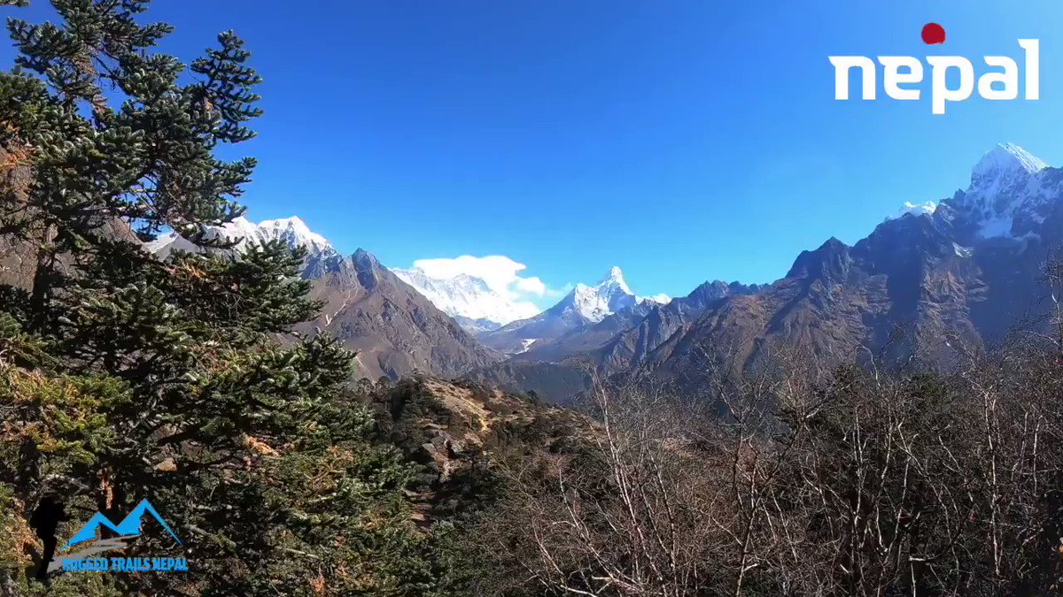 Planning to trek in Everest Region in 2020? Check the trek which you are looking for from week to weeks longer. https://www.ruggedtrailsnepal.com/everest-trekking.html…#Nepal #everesttrekking  #mountains #everesttrek2020 #everest #everestbasecamptrek #himalayas #visitnepal2020 #ruggedtrailsnepal #everestyoga