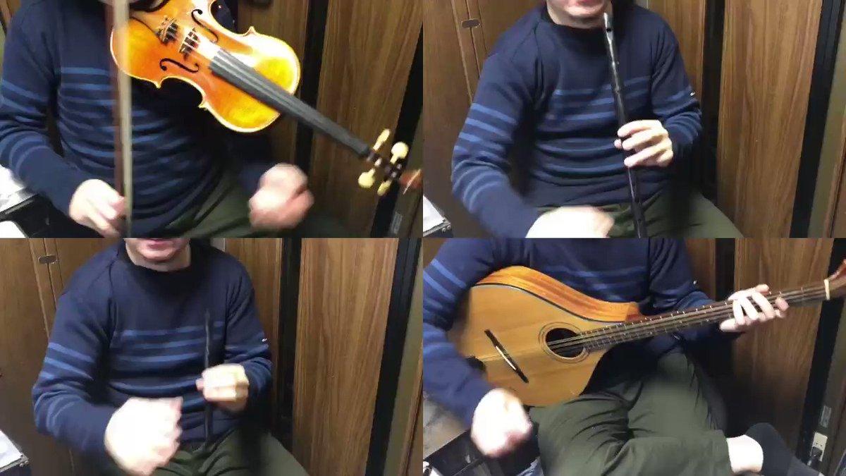 プリコネのバトルアリーナの曲を打ち込みとアイリッシュ楽器の演奏動画で構築してみました。#プリコネ #プリコネR