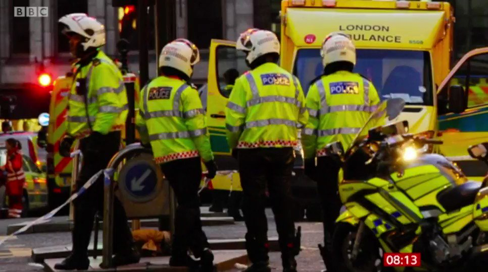 I am in awe of the people who ran towards danger to keep us all safe. The bravery of the emergency services and ordinary Londoners is incredible. @bbcbreakfast: