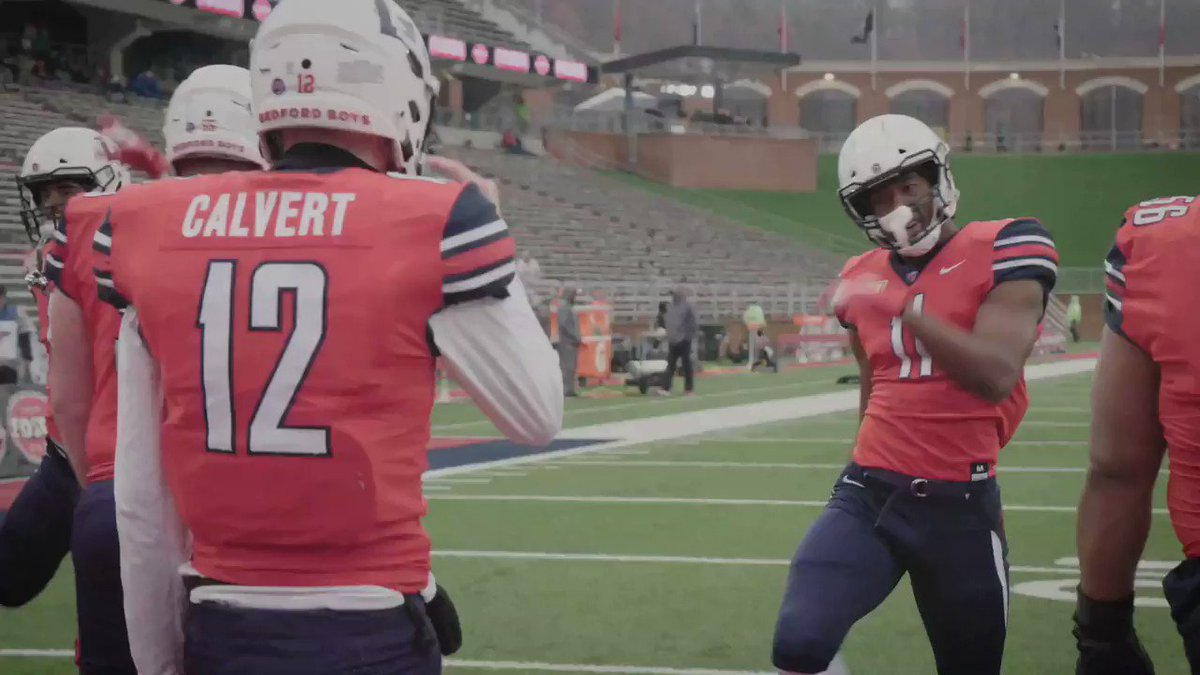 One last home game for @LibertyFootballs record-setting duo. #RiseWithUs
