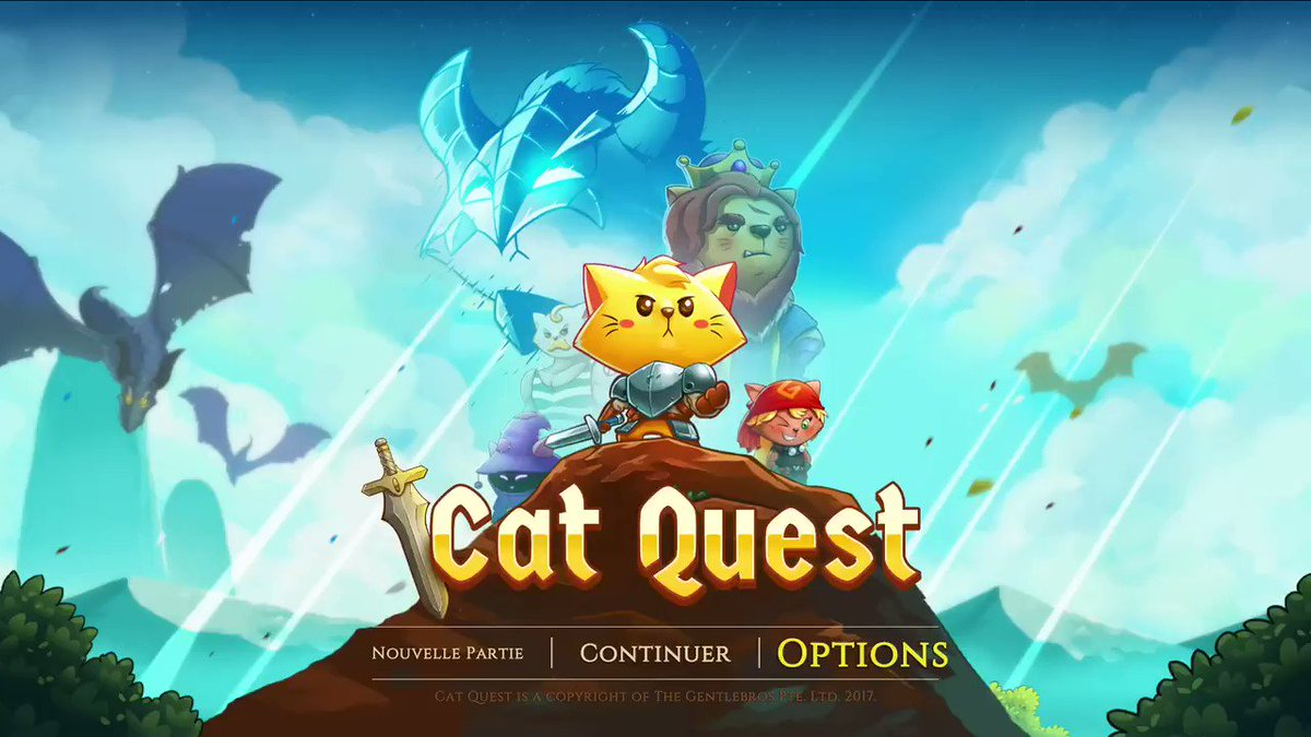 🚨🚨 Les chats dominent le monde !!!! ENFIN !! Je pars en chaventure sur #CatQuest !! Miaouw 🐱🐱  https://t.co/qDRriwVH09   🐱🐱 https://t.co/EczUoilYQr