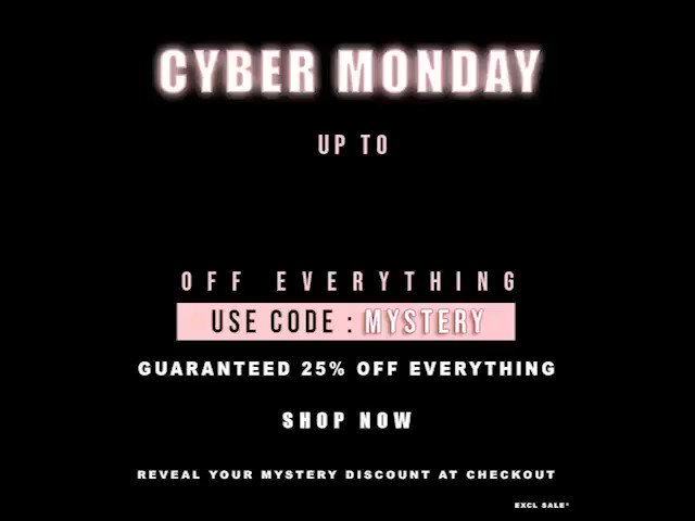 Image for GET UPTO 100% OFF EVERYTHING RN! 💸💸💸⁠ Use Code: 𝑴𝒀𝑺𝑻𝑬𝑹𝒀 ⁠ Shop Now 👉 https://t.co/5y08kiUfWH ⁠ #IKRUSHBABE https://t.co/5WZXa36Y0l