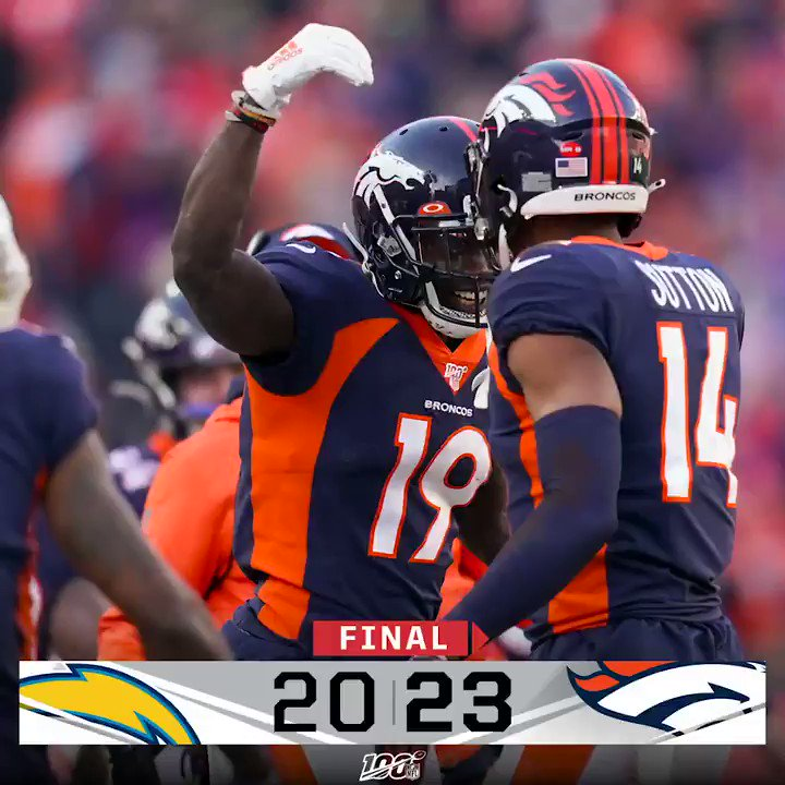 @NFL's photo on #LACvsDEN