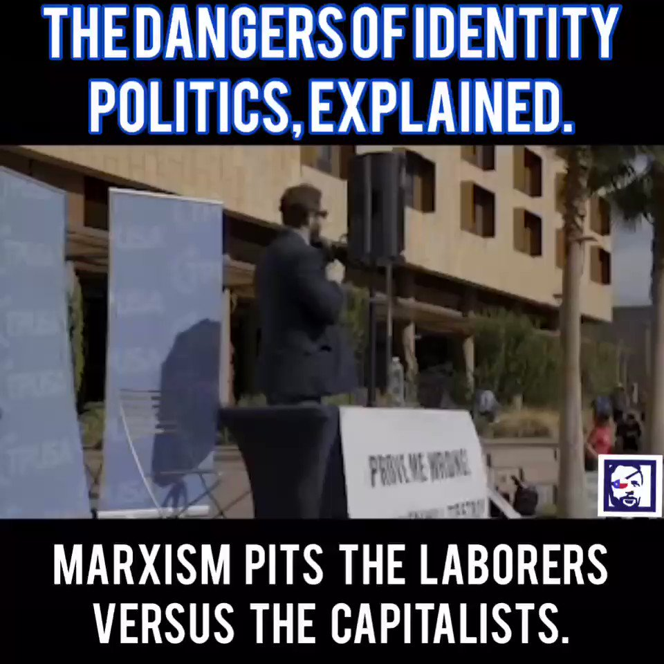 Group versus group politics is dangerous. Identity politics is based on Marxism, and is the opposite of the foundation of individual freedom and individual value that made America so successful. Don't buy into it.
