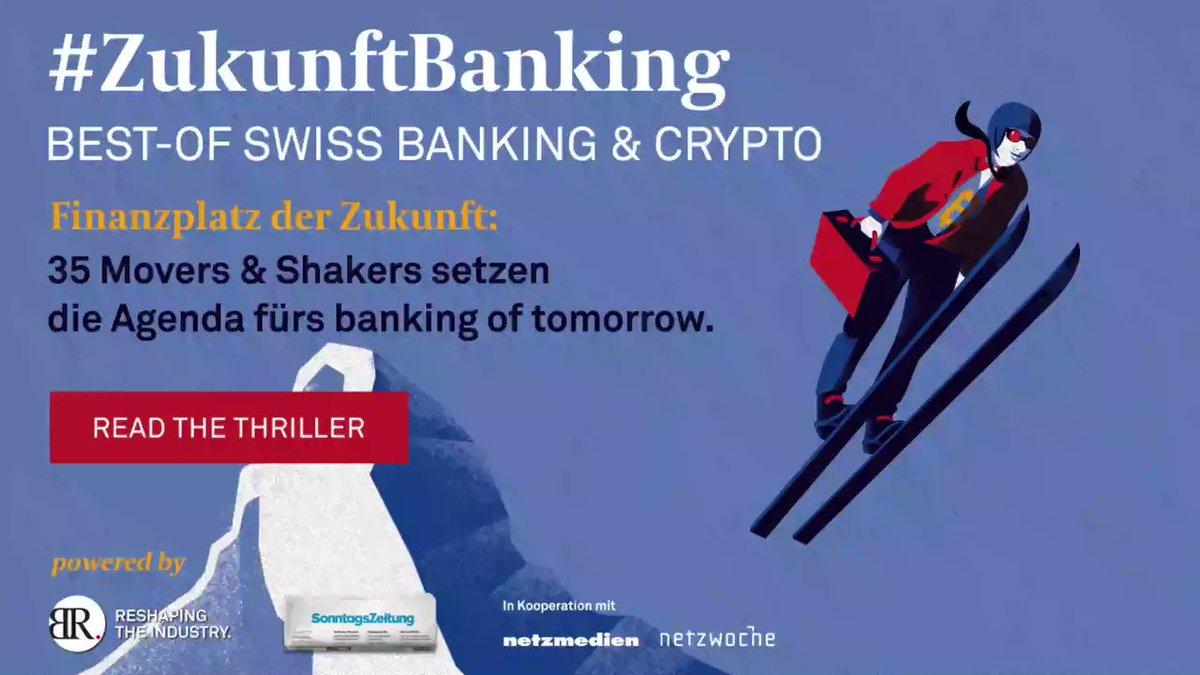 Image for the Tweet beginning: Die Zukunft des Banking! Ein