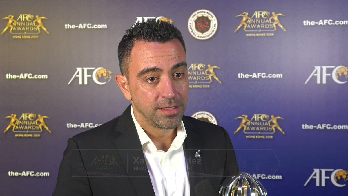 It is well deserved. He is an unbelievable talent, Xavi on 2019 AFC Player of the Year, Akram Afif! #AFCAwards2019