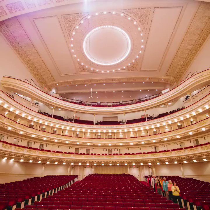 Celebrate the season with a tour of #CarnegieHall. Discover the magic with behind-the-scenes stories about this NYC landmark. View the full schedule of tours: carnegiehall.org/tours. #CHTour