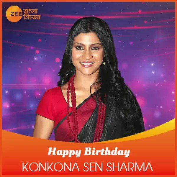 wishes Konkona Sen Sharma a very happy birthday!