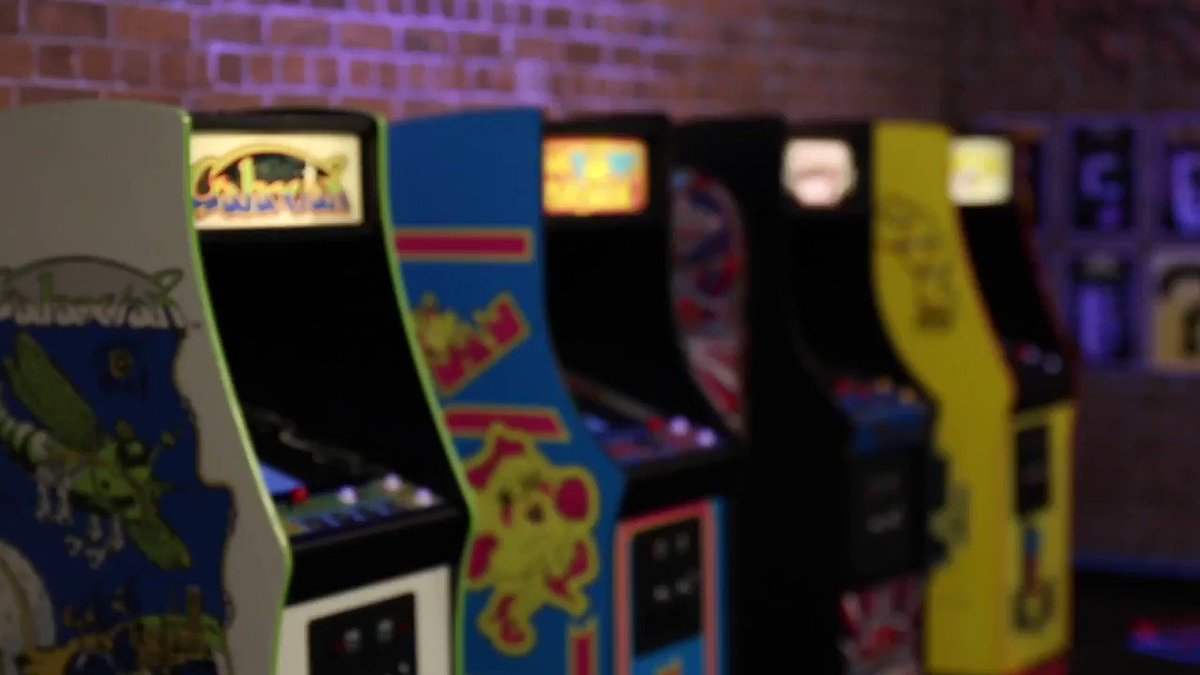 From the 1980s... to 2019! ⌛   Bring the arcades home with the official Quarter Arcades cabinets PAC-MAN, Ms. PAC-MAN, Galaga, and Galaxian - authentic, fully playable, high quality collectibles from @NumskullDesigns! 🕹