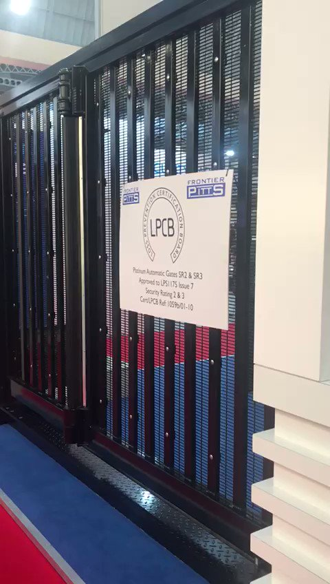Come & see our stand at the @ISE_Expo  The only Automatic #LPS1175 Bifolding #Gate is operation on stand C61. Footage of our new #IWA14 #HVM #Terra Bi-fold Gate, WORLD FIRST with DOUBLE LEAF upto 8m!!! https://tinyurl.com/rbnwxwp