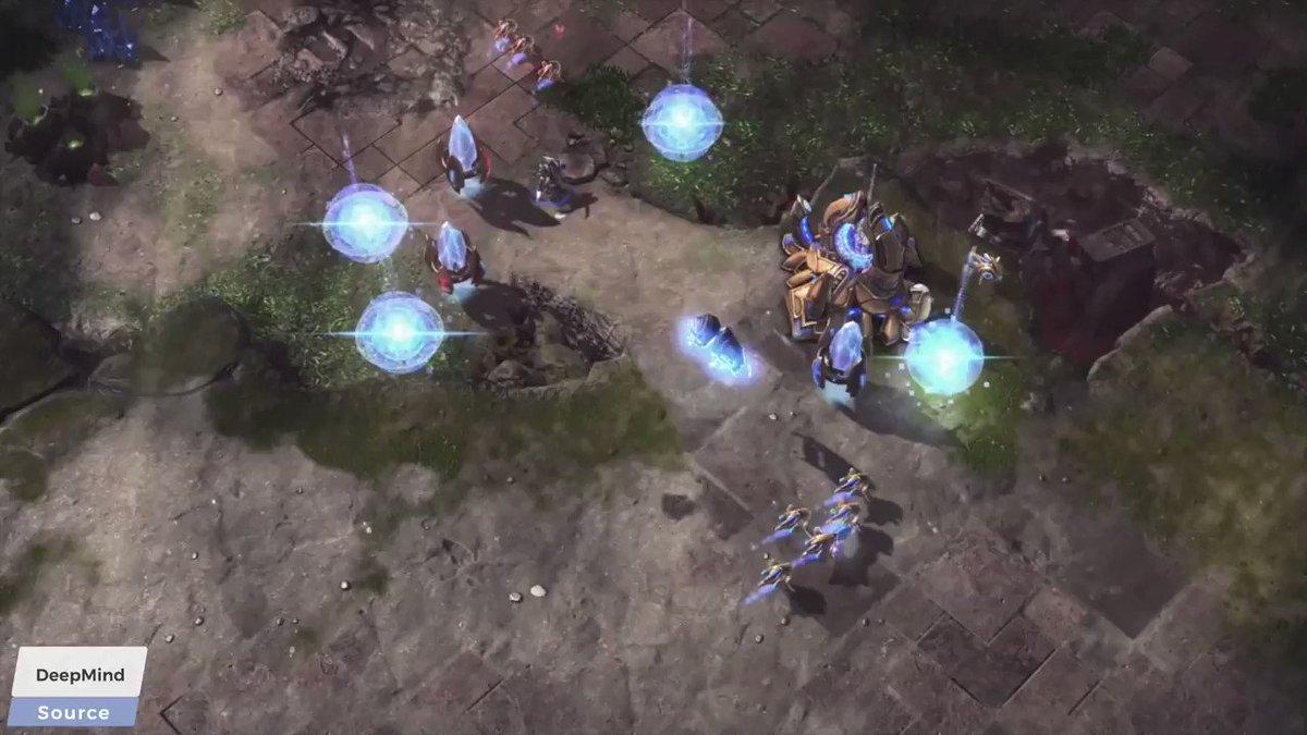 DeepMind's AlphaStar: A Grandmaster Level StarCraft 2 AI - YouTube