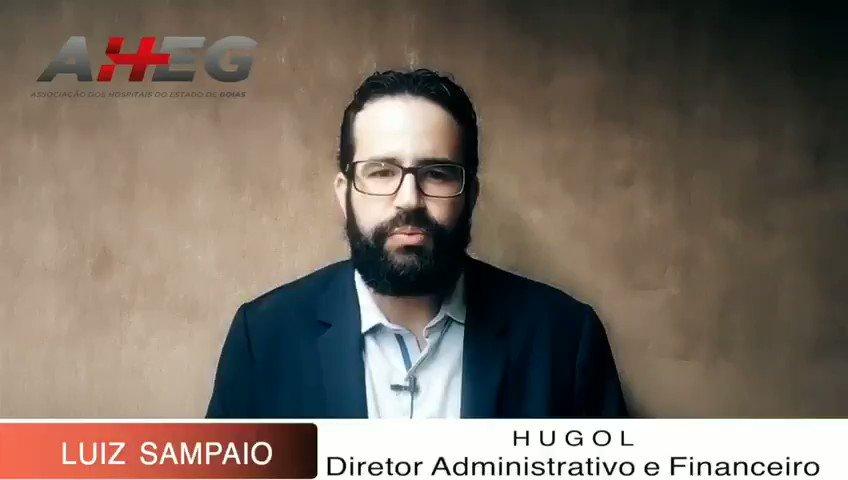 Confira o depoimento do diretor administrativo e financeiro do Hugol Luiz Sampaio,  sobre o  Encontro dos Gestores Hospitalares de Goiás.  #aheg #encontrodosgestoreshospitalaresdegoias #gestaodecustoshospitalares #saúde #hospitais #clínicas #gestores #administradores