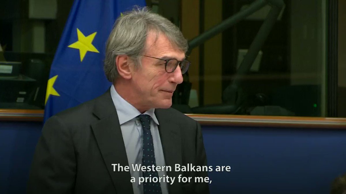 The Western Balkans are one of my top priorities. Today, more than ever, we need to reconcile the political and geographical dimension. Only together can we tackle global challenges like climate change or migration. My statement at the roundtable in the @Europarl_EN today.
