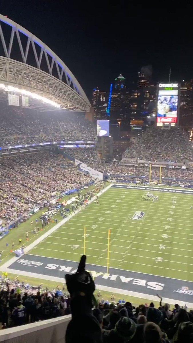 Touchdown!! @Seahawks #gohawks #MINvsSEA