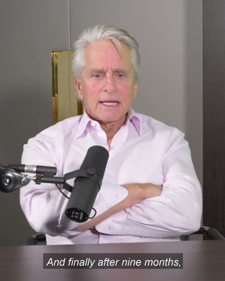 """""""I wish I did a diary, that would remind me and take me back to particular times."""" It sounds so simple, but it's so strong and inspiring! Who of you keeps a diary? 🙂 You can watch my #BeyondVictory Podcast with Michael Douglas on YouTube & listen to it on iTunes, Spotify etc. 👍"""