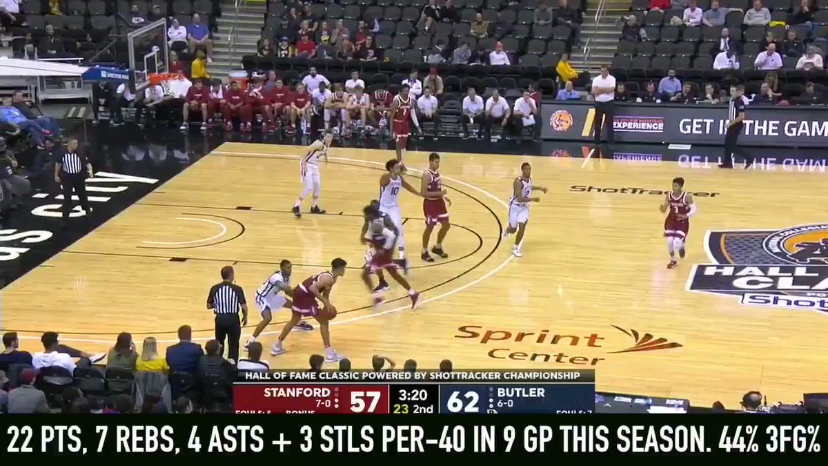 Despite not being considered a consensus top-100 player coming out of high school, 6-2, 160 lbs + 19 y/o #Stanford guard Tyrell Terry has established himself as one of the most productive freshmen in college basketball  Fulle @DraftExpress stock watch >> http://dx.im/Stock-Dec2