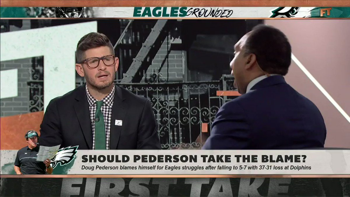 Carson Wentz is asked to do more than Nick Foles ever was, according to @stephenasmith.