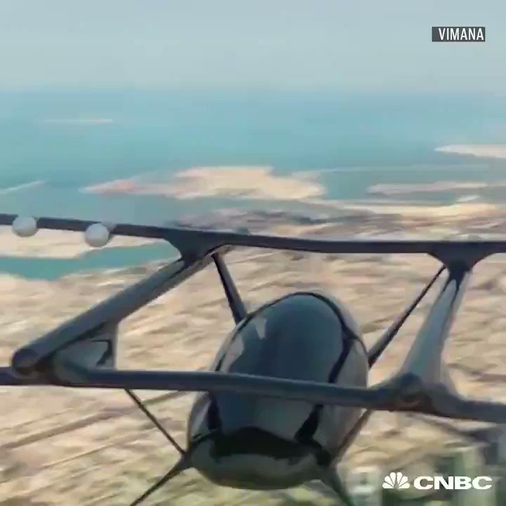 Image for the Tweet beginning: These Flying #Taxis don't have