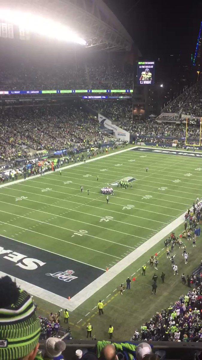 Let's Go Seahawks! #MINvsSEA #Seahawks #GoHawks