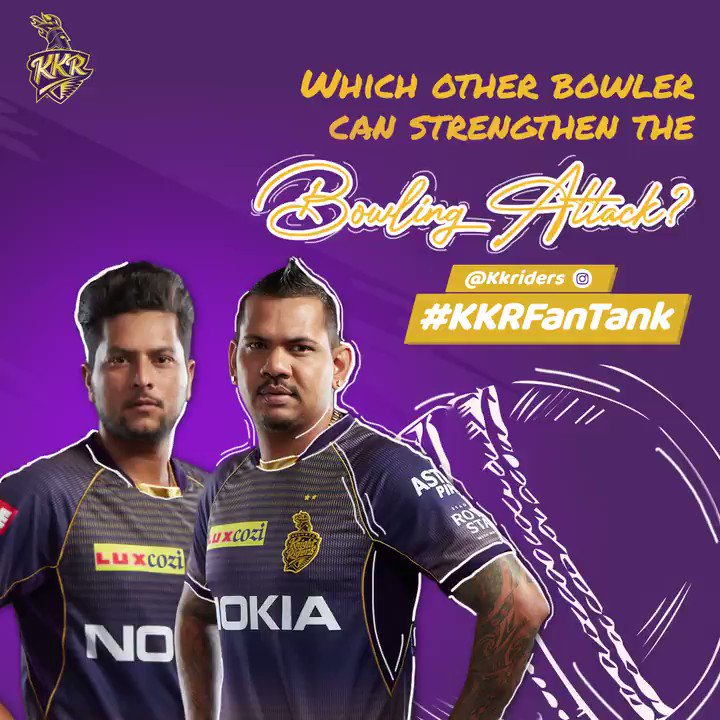 ⚡ Express Pace or Pace | Swing or Spin 🔮  Tell us who do you think should join the knights in a 📹 & stand a chance to sit with us ahead of the auction 🙌  Use @KKRiders and #KKRFanTank  #KorboLorboJeetbo