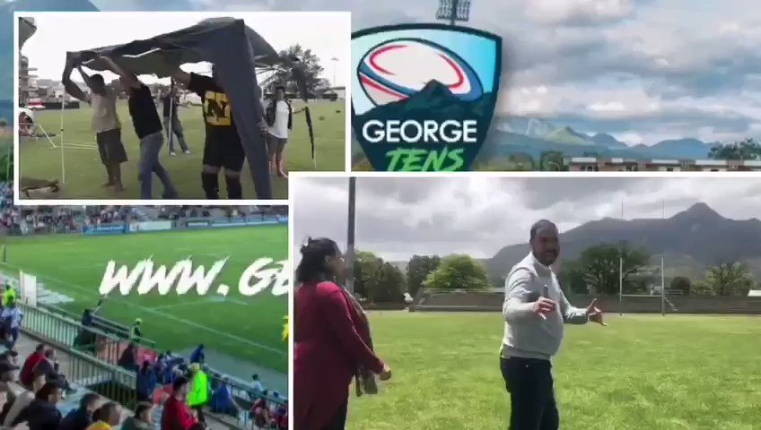 #tensrugby this weekend in George. #SportsLuncheonNY #sportsmarketing #Rugby #lifestyle #sportingtenerife